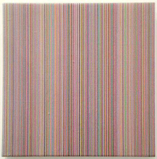 Acryl auf Leinwand, 1990, 33 x 33 cm, © Axel Wondratschke