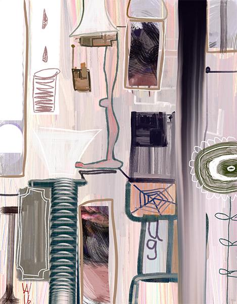 Digitale Malerei mit dem iPad Axel Wondratschke